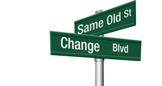 Same Old Street Change Blvd
